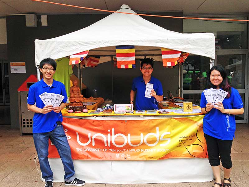 Invitation For Exhibition Stall : Unibuds university of new south wales buddhist society